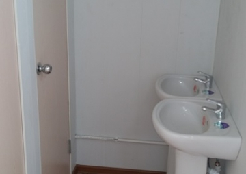 Туалетный модуль раковина