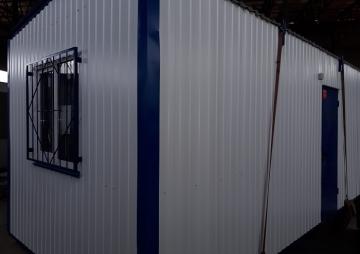 Блок-контейнер, вид с угла
