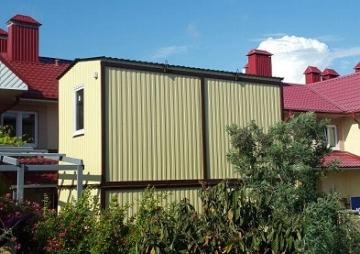 Двухэтажная дача