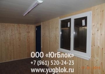 Дача 6х2,4м 3 окно