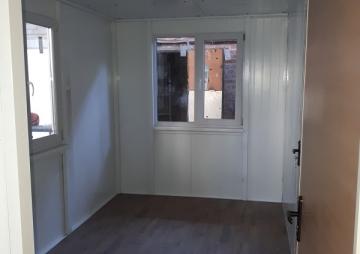 Комната в модульном здании из сендвич панелей