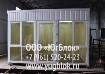 Торговый павильон 4х2,4м  108 000 р