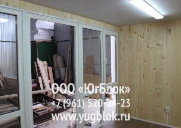 Павильон из алюкбонда за 108 000 рублей