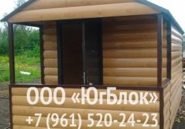 Гостевой домик с крыльцом