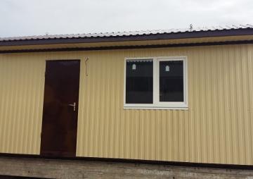 Дачный домик 6х3м