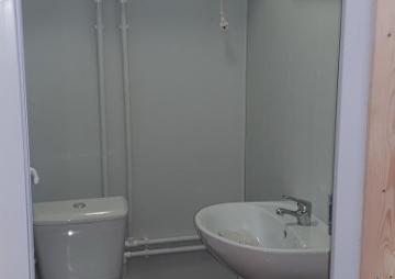 Туалет для прорабов
