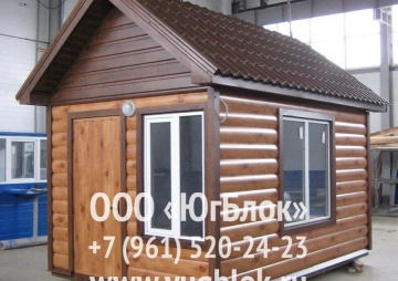 Деревянный гостевой домик