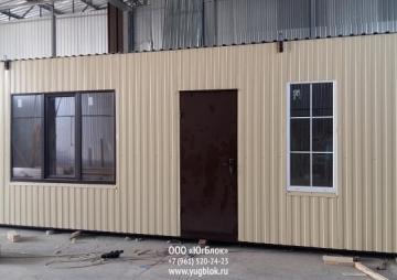 Дача 7х3м на 2 комнаты фронт
