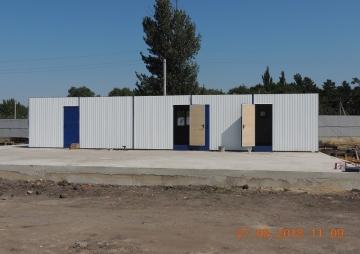 Модульное здание для стройки