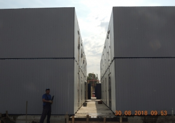 Модульные здания для стройки 2 этажа