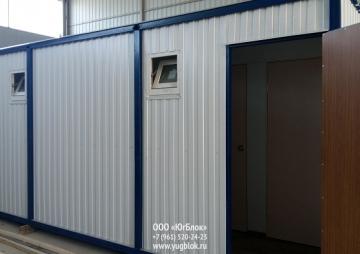 Санитарный блок на 2 двери