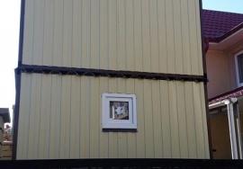 Дача двухэтажная 5х2,4м