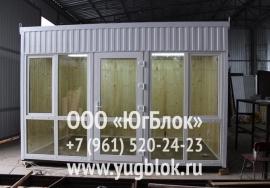 Киоск 4х2.4 м 108