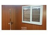 Дача 7х3м с сайдингом окно